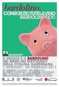 Locandina il maiale e il bardolino 2011